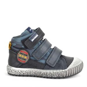 Develab Boys Mid Cut Sneaker 3 Velcro 41715-639