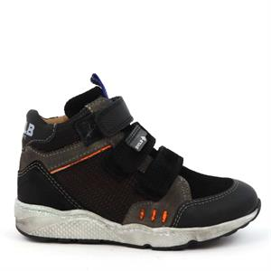 Develab Boys Mid Cut Sneaker 3Velcro 41863-999