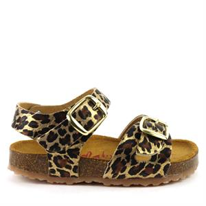 Develab Girls Sandal Leopard 48186-359