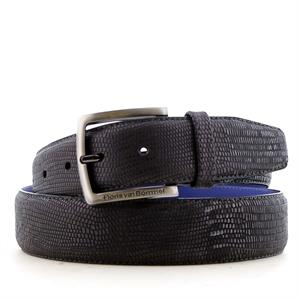 Floris Belts Black Lizard