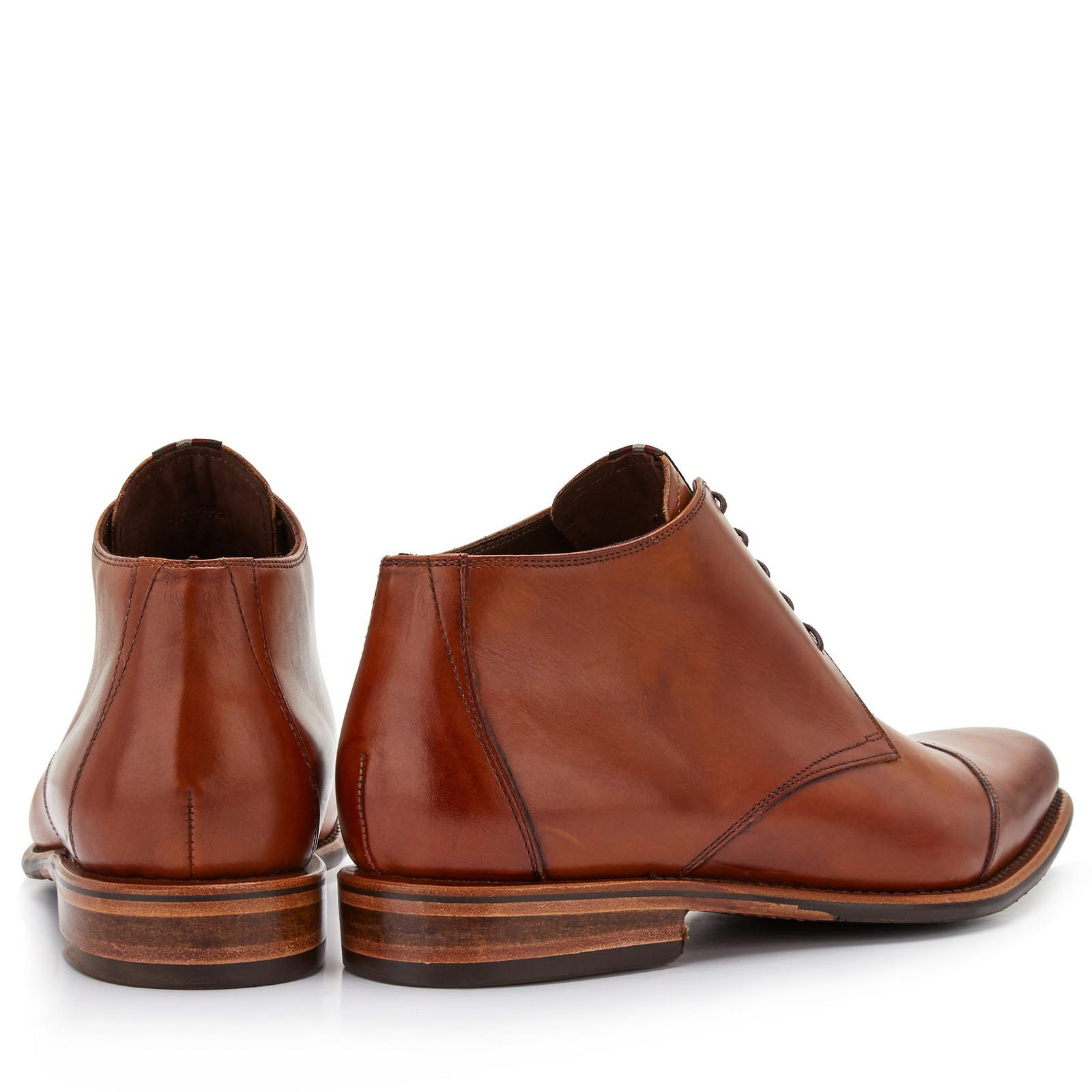 e151ac95934f61 Floris van Bommel Floris Dressed Cognac Calf 10077/11 online ...