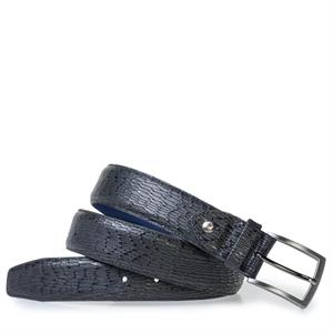 Floris van Bommel Floris Belts Black Print 75200/96