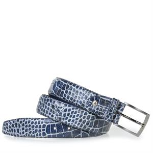 Floris van Bommel Floris Belts Blue Croco 75203/04