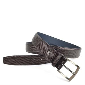 Floris van Bommel Floris Belts Bordo PrintMetallic 75190/39