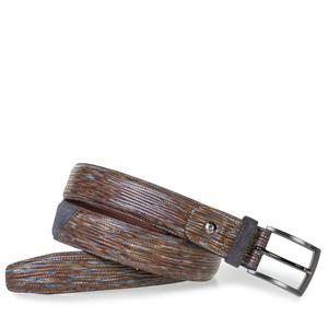 Floris van Bommel Floris Belts Brown Print 75188/60