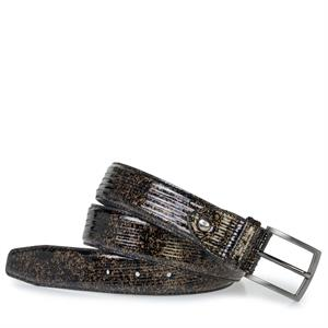 Floris van Bommel Floris Belts Brown PrintPatent 75203/01