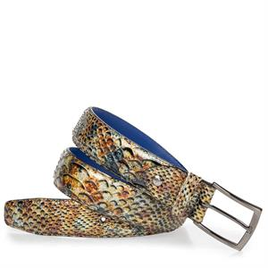Floris van Bommel Floris Belts Brown SnakePatent 75200/64