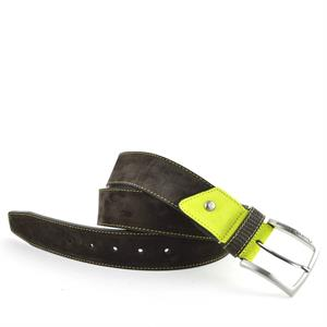 Floris van Bommel Floris Belts Brown Suede 75192/00