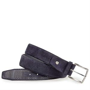 Floris van Bommel Floris Belts DarkBlue Plait 75159/16