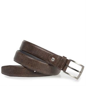 Floris van Bommel Floris Belts DarkBrown Lizard 75201/51