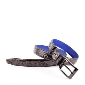 Floris van Bommel Floris Belts DarkBrown Print 75153/24