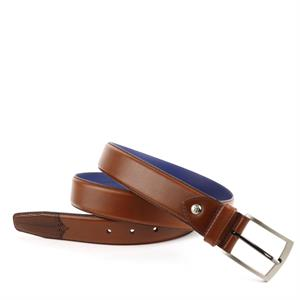 Floris van Bommel Floris Belts DarkCognac Calf 75197/00