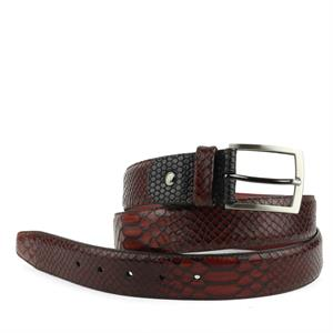 Floris van Bommel Floris Belts DarkCognac Snake 75188/11