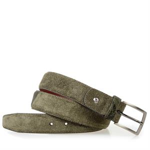 Floris van Bommel Floris Belts Green Suede 75188/28