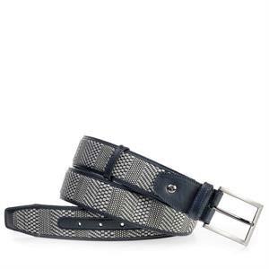 Floris van Bommel Floris Belts Grey Plait 75159/12