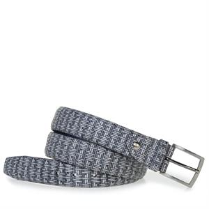 Floris van Bommel Floris Belts Grey Print 75200/70