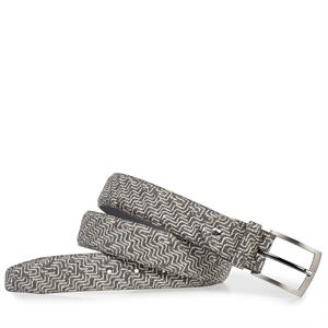 Floris van Bommel Floris Belts Grey Print 75201/18