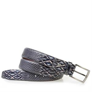 Floris van Bommel Floris Belts Grey Snake 75188/25