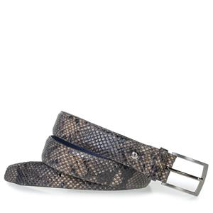 Floris van Bommel Floris Belts Grey Snake 75200/90