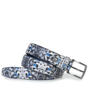 Floris van Bommel Floris Belts LightBlue SnakePatent 75201/59