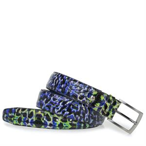 Floris van Bommel Floris Belts Navy Croco 75200/98