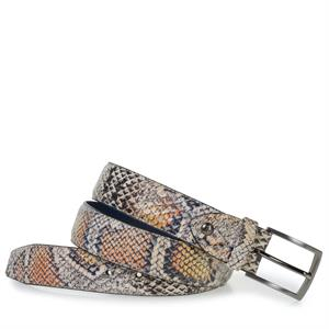 Floris van Bommel Floris Belts Orange Snake 75201/67