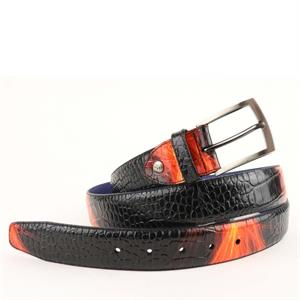 Floris van Bommel Floris Belts Red Croco 75201/44