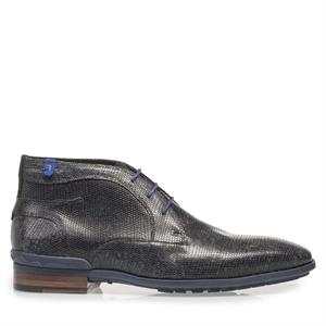 Floris van Bommel Floris Casual Black Lizard 10629/05