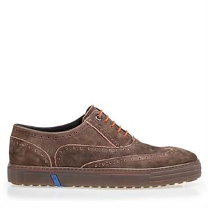 Floris van Bommel Floris Casual Brown Nubuck 19071/11