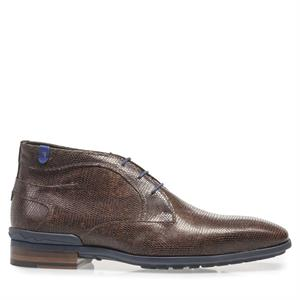 Floris van Bommel Floris Casual DarkBrown Lizard 10629/07