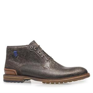 Floris van Bommel Floris Casual DarkBrown Lizard 20228/19