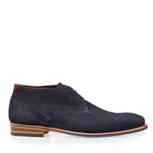 Floris van Bommel Floris Dressed Blue Suede 10673/09