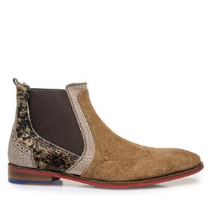 Floris van Bommel Floris Dressed Brown Suede 10455/05