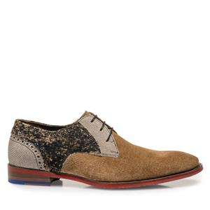 Floris van Bommel Floris Dressed Brown Suede 18104/09