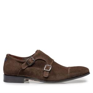 Floris van Bommel Floris Dressed DarkBrown Suede 12390/03