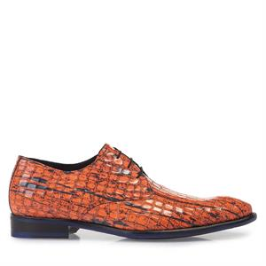 Floris van Bommel Floris Premium Orange PatentCroco 18167/09