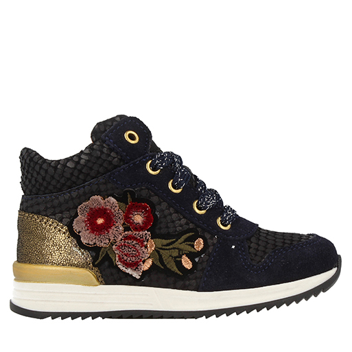 Mid Sneaker Girls 633 Cut Laces 41764 byv7Ygf6