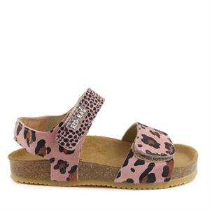 Red Rag Girls Sandal Velcro Leopard 19210-479