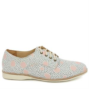 Rollie derby dots pink