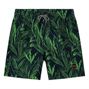 Shiwi boys swimshort scratched leaves 4212110077