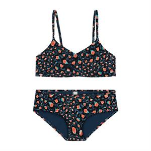 Shiwi girls leop spot twisted scoop top bikini 4612512799