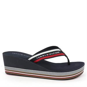 Tommy Hilfiger Stripy wedge beac
