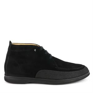Van Bommel VB Casual Black Suede 20205/06