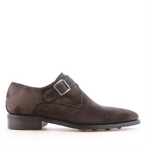 Van Bommel VB Casual DarkBrown Suede 12352/01