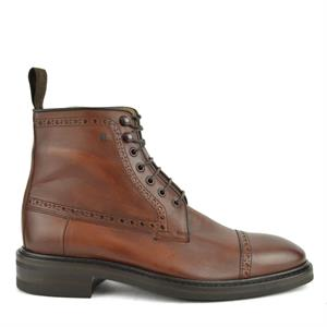 Van Bommel VB Casual DarkCognac Calf 10192/02