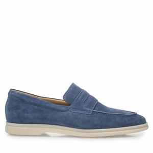 Van Bommel VB Casual SD Blue Suede 11205/04