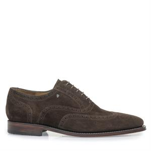 Van Bommel VB Dressed SD DarkBrown Suede 19125/02