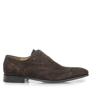 Van Bommel VB Dressed SD DarkBrown Suede 19295/01
