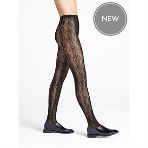 Wolford Logo Net Tights 19234