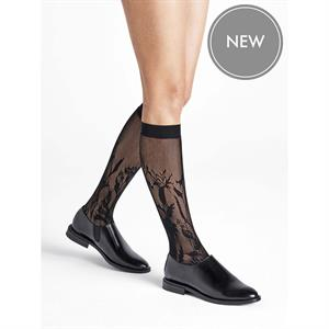 Wolford Wildflower Net Knee-Highs 31565